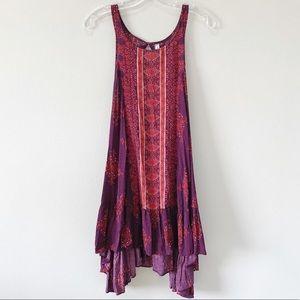 Free People   Into You Slip Dress Purple XS